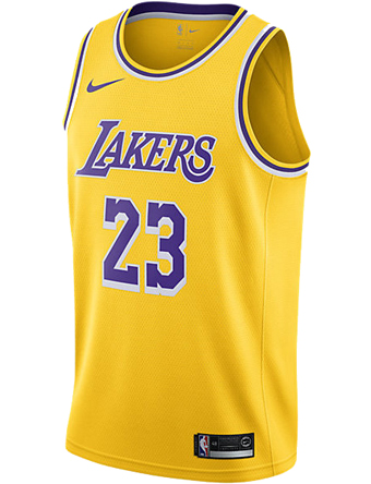 バスケットジャージ ウェア  ナイキ Nike LeBron James Icon Edition Swingman Jersey Lakers  ストリート 【MEN'S】