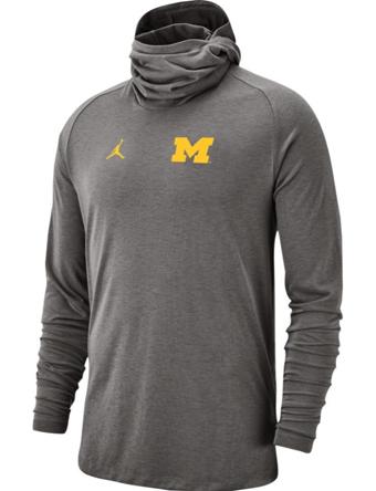 バスケットロング Tシャツ ウェア  ジョーダン ナイキ Jordan Jordan College Bala L/S Top Wolverines  ランニング トレーニング ストリート 【MEN'S】