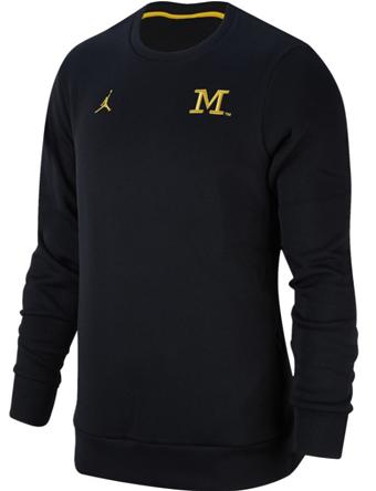 バスケットスウェット ウェア 秋冬物 ジョーダン ナイキ Jordan Jordan College Crew V2 Pullover Wolverines  ランニング トレーニング ストリート 【MEN'S】