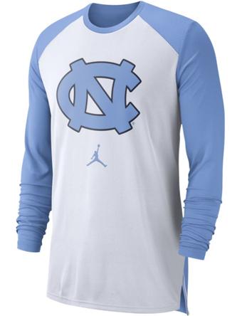 バスケットロング Tシャツ ウェア  ジョーダン ナイキ Jordan Jordan College L/S Breathe Shooter Shirt Tar Heels  ランニング トレーニング 【MEN'S】