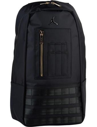 バスケットバッグ バックパック リュック ジョーダン ナイキ Jordan Jordan MA-1 Backpack Blk/M.Gold  ストリート