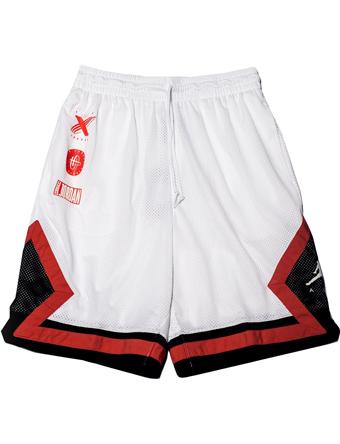 magasin en ligne 27723 562e7 Basket shorts bath bunware Jordan Nike Jordan Jordan Tinker Mesh Shorts Wht  street