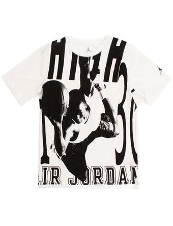best loved 6c327 b2330 Basket T-shirt youth kidsware Jordan Nike Jordan Jordan Jumpman HBR Tee GS  Wht street kids apparel