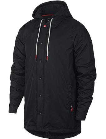 バスケットジャケット ウェア 秋冬物 ナイキ Nike Kyrie Protect Jacket Blk/Blk  ストリート 【MEN'S】