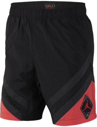 バスケットショーツ バスパン ウェア  ジョーダン ナイキ Jordan Jordan Retro 6 Nylon Shorts Blk/E.Glow/S.Gry  ランニング トレーニング ストリート 【MEN'S】
