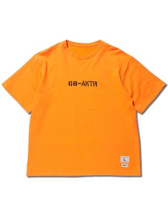バスケットTシャツ ウェア  アクター AKTR x68 SWEAT TEE ORANGE  ストリート 【MEN'S】