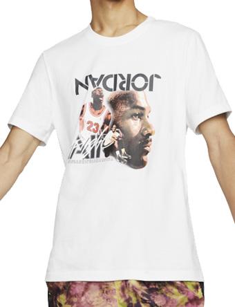 バスケットTシャツ ウェア  ジョーダン ナイキ Jordan Jordan Retro 4 Legacy Flight T-Shirt Wht  ストリート 【MEN'S】