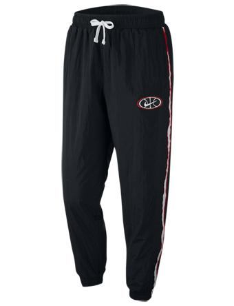 バスケットパンツ ウェア 秋冬物 ナイキ Nike Throwback Woven Pants Blk/Blk/Wht  ストリート 【MEN'S】