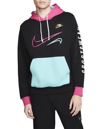 バスケットパーカー ウェア 秋冬物 ナイキ Nike Nike Miami Club Pullover Hoodie Blk  ストリート 【MEN'S】