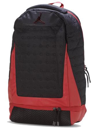 バスケットバッグ バックパック リュック ジョーダン Jordan Jordan Retro 13 Backpack Blk/G.Red  ストリート