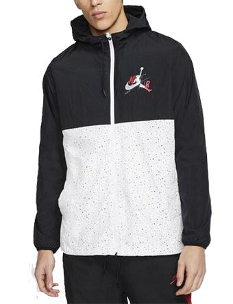 バスケットジャケット ウェア 秋冬物 ジョーダン Jordan Jumpman Classics Windwear Jacket Blk/Gym Red/Wht  ストリート 【MEN'S】