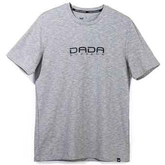 豊富な種類から選べる バスケットTシャツ ウェア ダダ 予約販売品 DADA LOGO CHAIN MEN'S Gry TEE メーカー在庫限り品