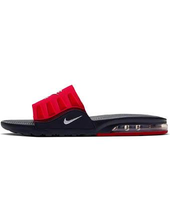 海外限定ものが豊富 海外取寄 バスケットシューズ Seasonal Wrap入荷 バッシュ スニーカー ナイキ Nike Air Black Max Camden U. Red Slide ☆正規品新品未使用品 White ストリート
