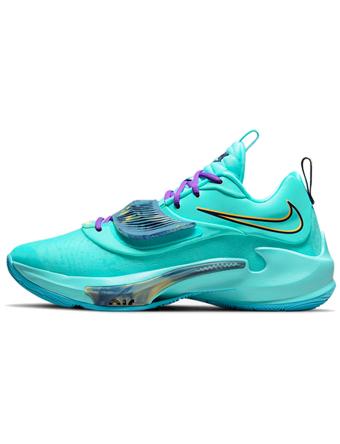 海外限定ものが豊富 海外取寄 本物◆ ショップ 新作 バスケットシューズ バッシュ ナイキ Nike Zoom Freak Tint Blu EP Blk D.Turquoise Thunder 3 Melon
