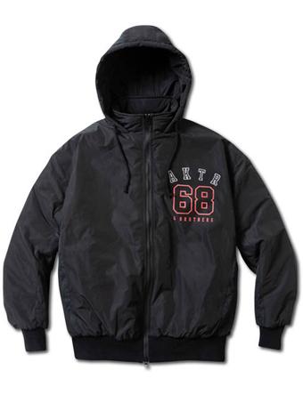 スウエット パンツ パーカー 続々入荷 バスケットジャケット ウェア 秋冬物 アクター AKTR x68 BLACK MEN'S 春の新作 ストリート UP 毎週更新 23+45 WARM JACKET