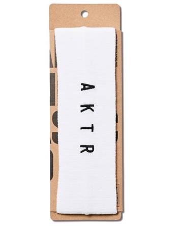 アクセサリーからフィギュア タオルなど豊富 新作 バスケットヘッドバンド アクター AKTR LOGO 日本製 HEAD ランニング まとめ買い特価 CLASSIC BAND トレーニング WHITE ストリート
