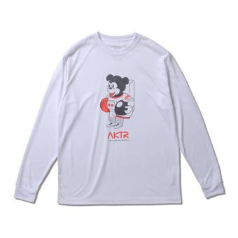 豊富な種類から選べる バスケットロング ◆高品質 Tシャツ ウェア 並行輸入品 アクター AKTR SPACE TEE WHITE S SPORTS MEN'S NICK L