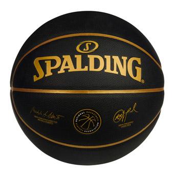 アクセサリーからフィギュア タオルなど豊富 完全送料無料 新作 低価格 バスケットボール 7号球 スポルディング NBPA Spalding Gld 合成皮革 プレイヤーズボール Blk