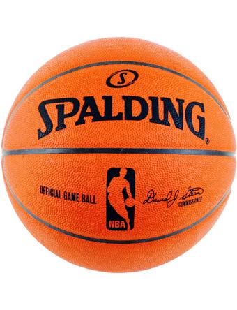 バスケットボール 7号球 ボール スポルディング NBA ゲームレザー スポルディング Spalding Ball Spal NBA Game Leather Org/Blk