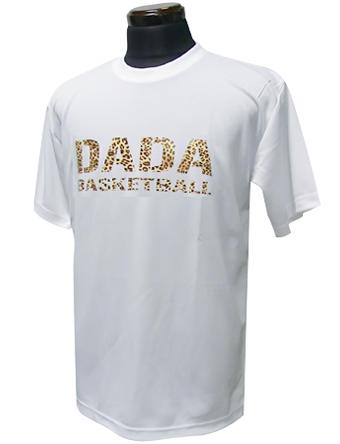 豊富な種類から選べる バスケットTシャツ ウェア ビッグ 70%OFFアウトレット ロゴ ダダ DADA Tee Wht Leopard Logo MEN'S Big 限定モデル