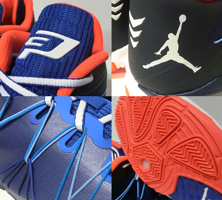 Jordan CP3 VII AE乔丹海和平利7 Blu/Wht/Nvy/Red Jordan乔丹篮球鞋克里斯杆篮球商品