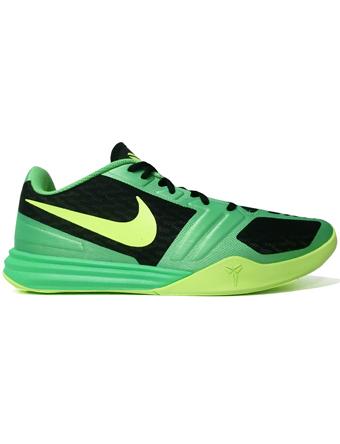 バスケットシューズ バッシュ メンタリティ  ナイキ Nike KB Mentality Blk/Volt/Poison Grn