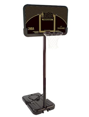 バスケットバックボード ハイライト コンポジット スポルディング Spalding High Light Composite Blk/Gold