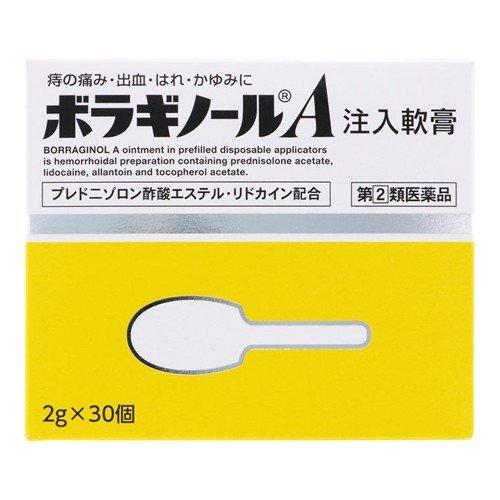 容器を個別包装していますので 外出 旅行時などに便利です 送料無料 ボラギノールA 注入軟膏 アウトレット 2g×30個 指定第二類医薬品 定形外郵便 信憑