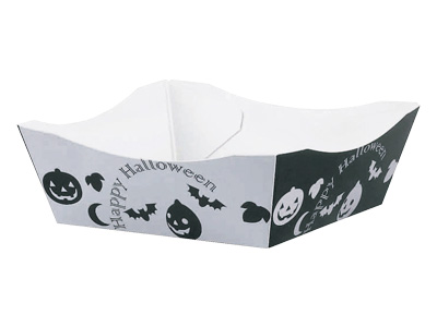 Halloween tray basket Halloween (B) Silver (5 / pkg) tо confectionery tool  _ candy making items _ decorating tools _ homemade Halloween sweets, gifts