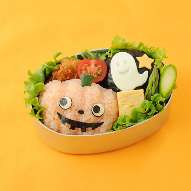 Rice Ball For Halloween! Onigiri Set / Rice Dies Halloween Event Party Easy  Kyaraben Part 69