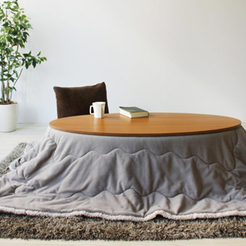 【送料無料】オーバルコタツ リンド120TK 幅120CM こたつ テーブル 東谷 AZUMAYA 天然木 楕円こたつ センターテーブル ひとり暮らし ちゃぶ台 センターテーブル