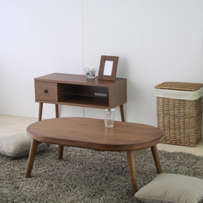 【送料無料】折脚コタツ コロナ120 こたつ テーブル 幅120CM 天然木 折りたたみ式 フォールディング ダイニングテーブル ひとり暮らし ちゃぶ台 センターテーブル