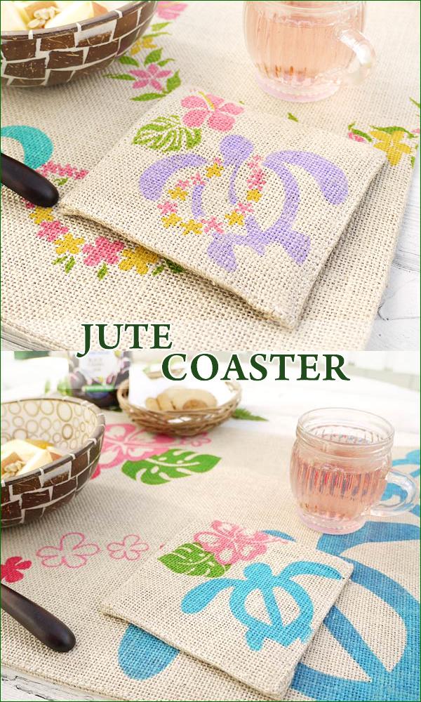 Jute coasters