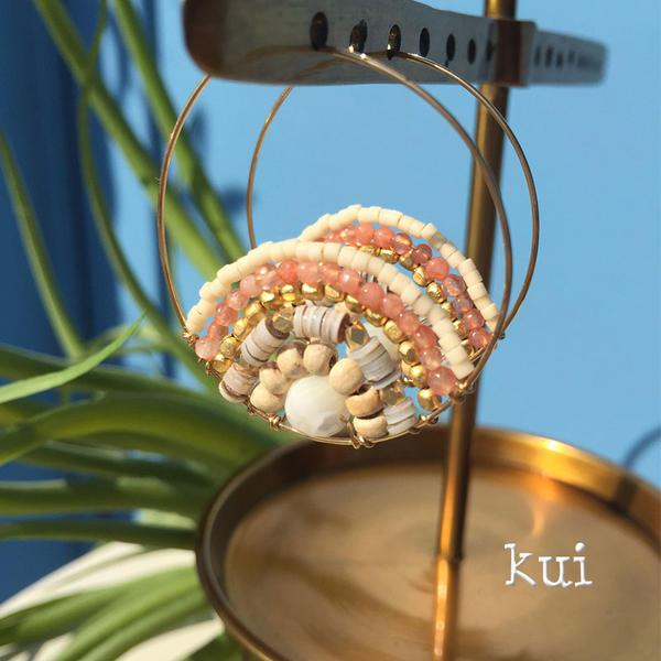 【ジュエリー】【ピアス】【Kui Co.】SIGNATURE COLLECTIONKCSIGEC005【トロピカル】【ハワイアンジュエリー】