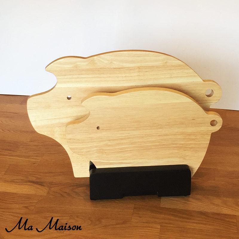 Ma Maison カッティングボード 木製 PIG BOARD木製カッティングボード