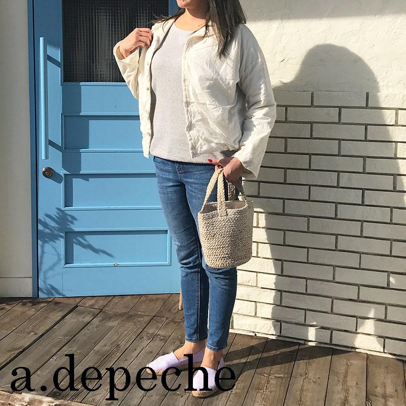 トップス カットソー adepeche アデペシュレディースファッション