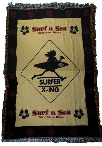 And サーフアンドシー blanket SNSSXTHB