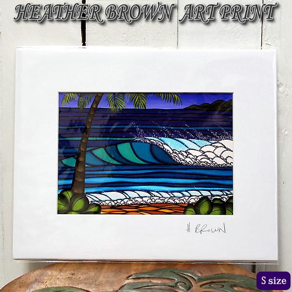 【ヘザーブラウン】【Heather Brown】ART PRINT S HAWAIIAN WINTERへザー ブラウン・アートプリント【ヘザー・ブラウン】Hawaii ハワイ雑貨 ハワイアン