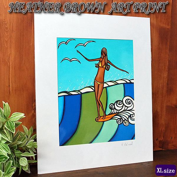【ヘザーブラウン】【Heather Brown】ART PRINT XL SEA SIRENへザー ブラウン・アートプリントXL【ヘザー・ブラウン】Hawaii ハワイ雑貨 ハワイアン