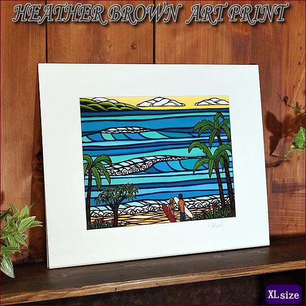 【ヘザーブラウン】【Heather Brown】ART PRINT XL HAWAIIAN HOLIDAYへザー ブラウン・アートプリントXL【ヘザー・ブラウン】Hawaii ハワイ雑貨 ハワイアン
