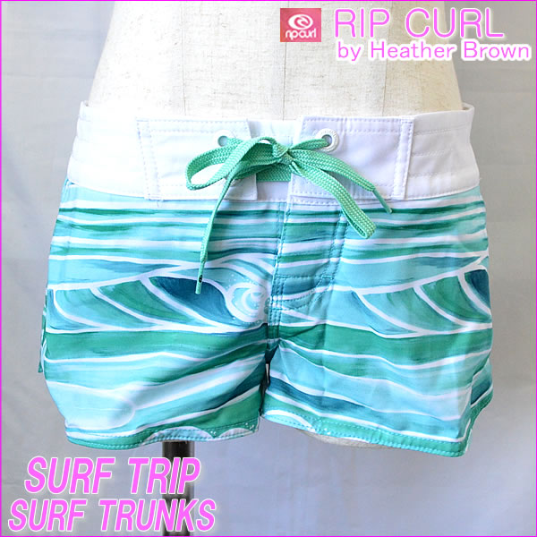 ulu-hawaii  SURF TRIP TRUNKS Rip Curl women s surf trunks (Board ... f0a94788e8b