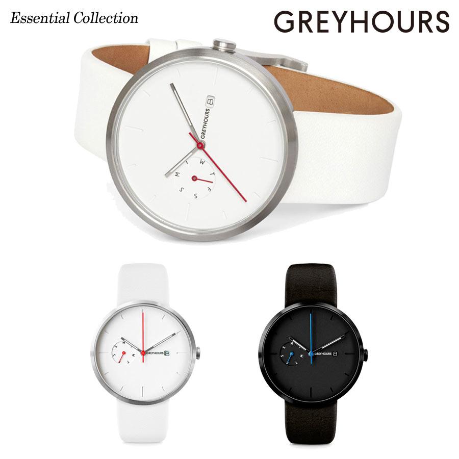 【日本公式品】グレイアワーズ 時計 メンズ レディース 男女兼用 Greyhours Essential (エッセンシャル)