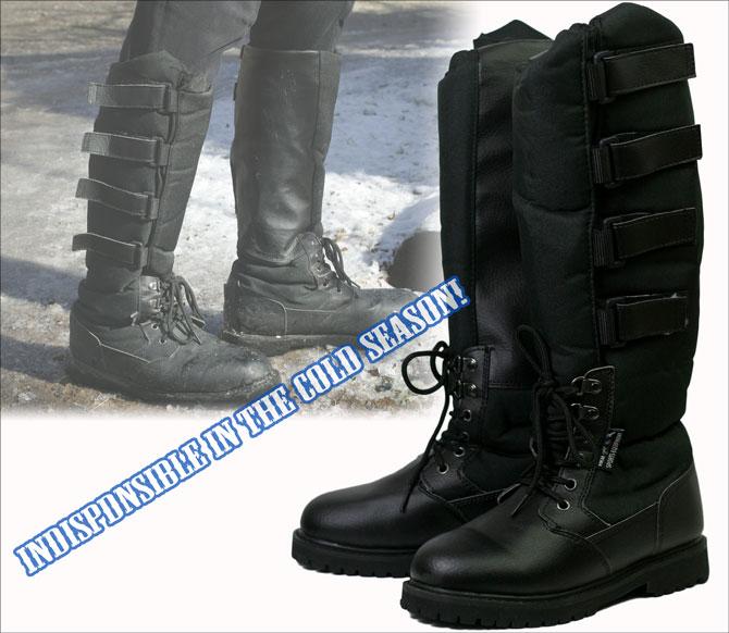 【作業用ブーツ】 <BR>HKMウィンターロングブーツ アラスカ (パドックシューズ)