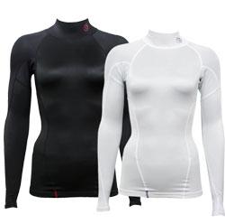 【乗馬用インナー】 DORON(ドロン)アンダーウェア ソフトシリーズ SOFT-ハイネックシャツ(レディース)