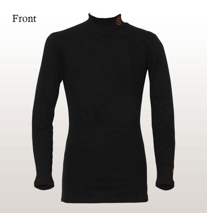 【乗馬用インナー】 DORON(ドロン)アンダーウェア ウォームシリーズ HEAT-ハイネックシャツ(男女兼用)
