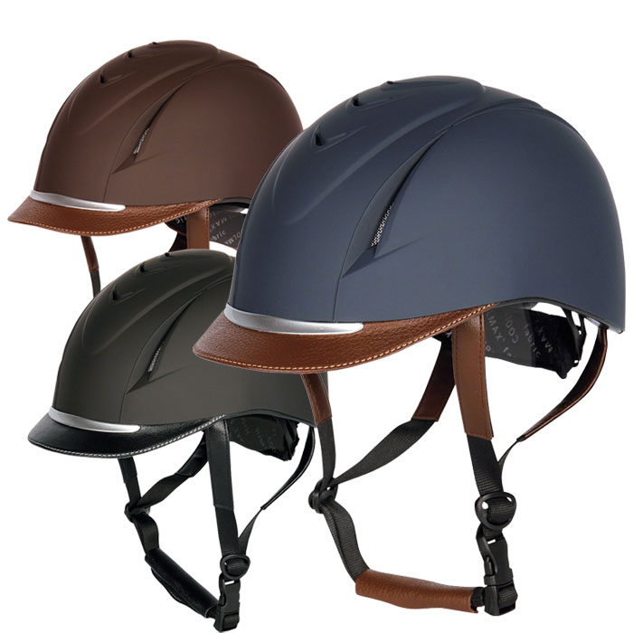 【乗馬用ヘルメット】 ハリーズホースヘルメット ニューチャレンジ(乗馬用品)