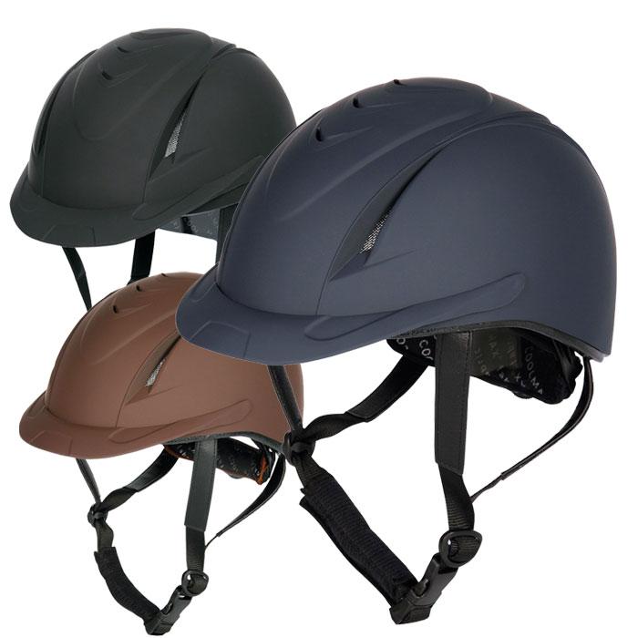 【乗馬用ヘルメット】 ハリーズホースヘルメット ニューチヌーク(乗馬用品)