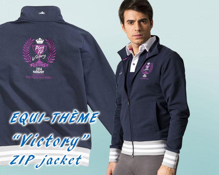 Equi-Theme WEGメンズジップジャケット