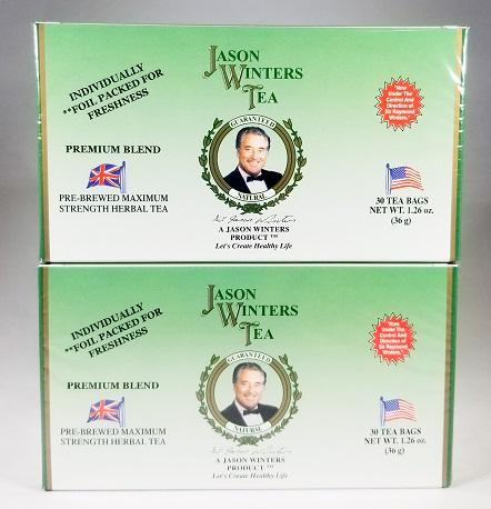 【送料無料】【正規代理店】ジェイソン・ウィンターズ・ティー 30袋入 二箱セット