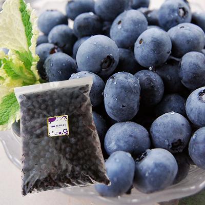完熟で甘い!無農薬・無肥料で栽培された、山形産の冷凍ブルーベリーです。 【冷凍】山形の完熟ブルーベリー1kg[箱入]